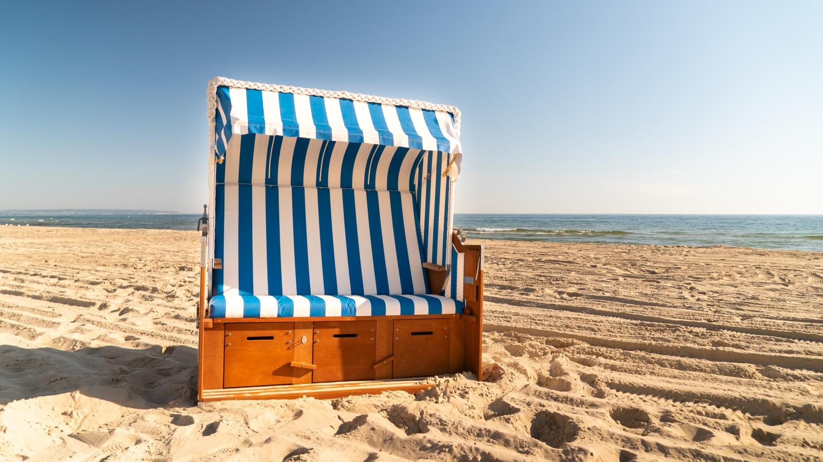 Strandkorb Dreisitzer online buchen