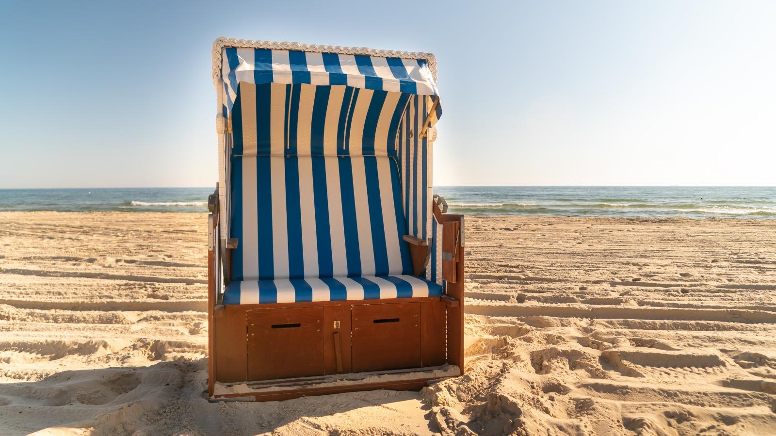 Strandkorb Zweisitzer online buchen